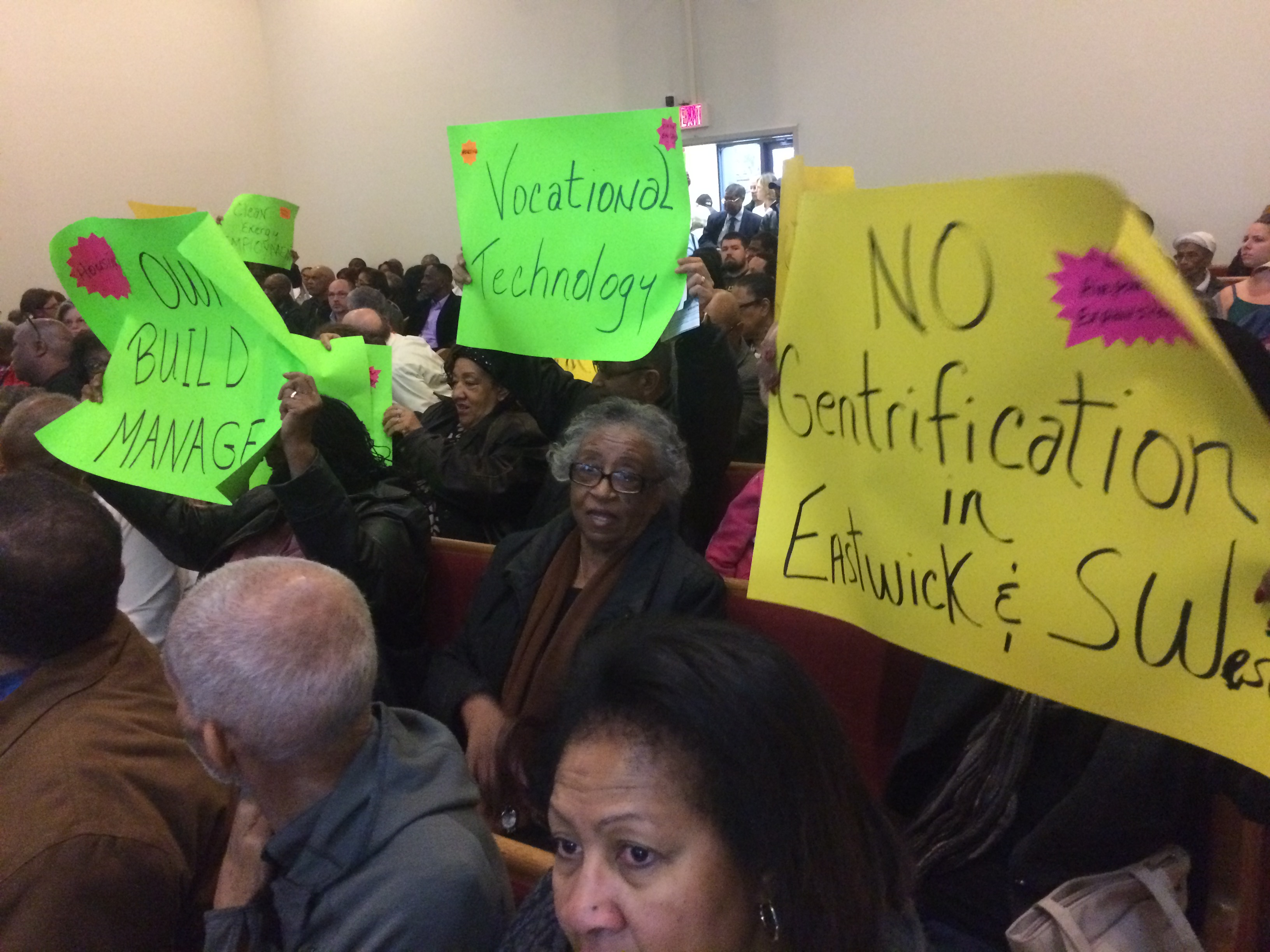 Eastwick's neighbors expressed their needs at public planning meeting