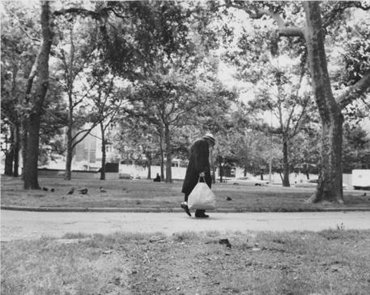 In Franklin Square, 1969 | Evening Bulletin, Temple Special Collections Research Center, Temple University Libraries, Philadelphia, PA
