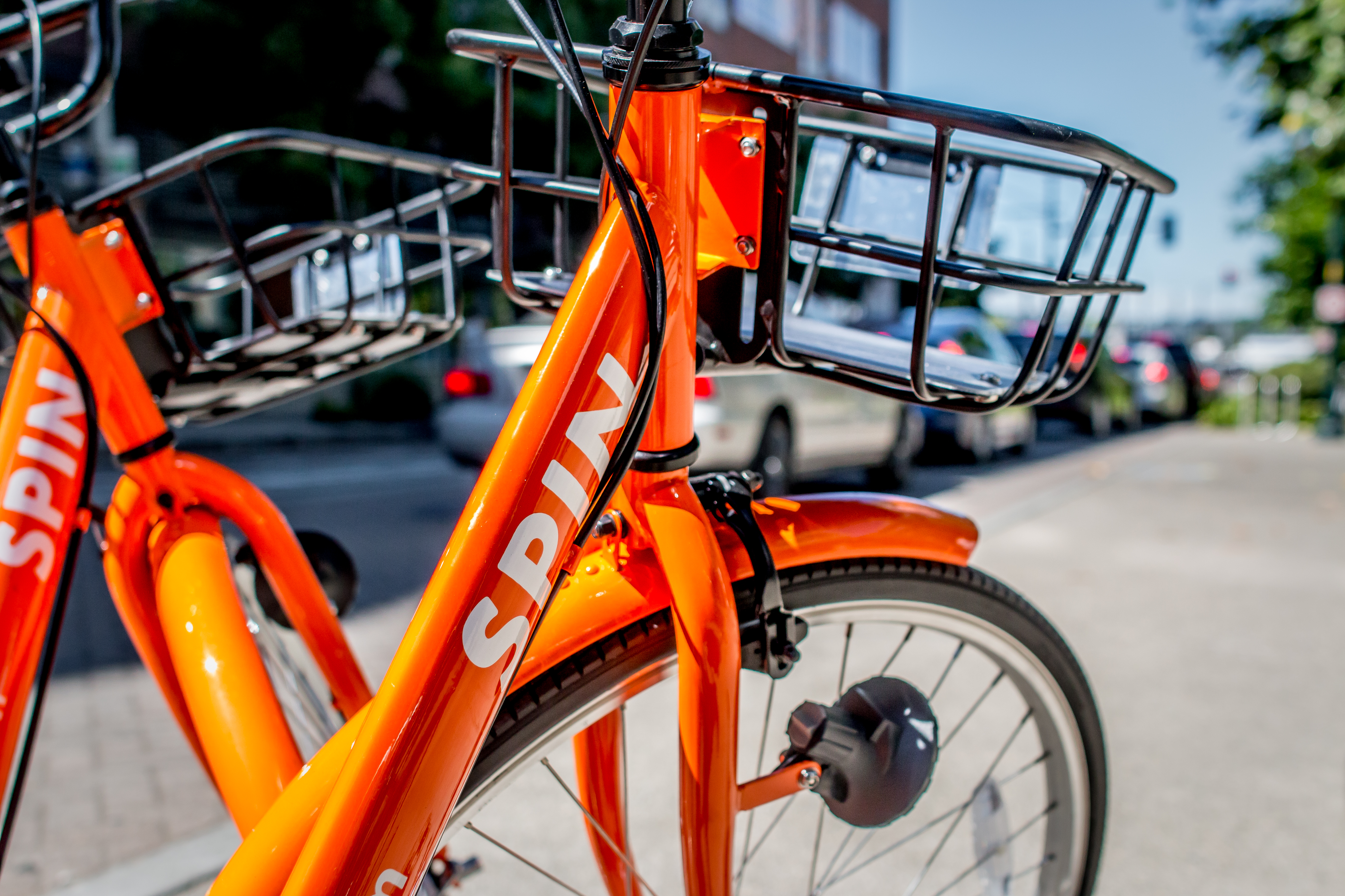 La Salle University is launching a bike share program in partnership with the company Spin. (Photo credit: Spin)