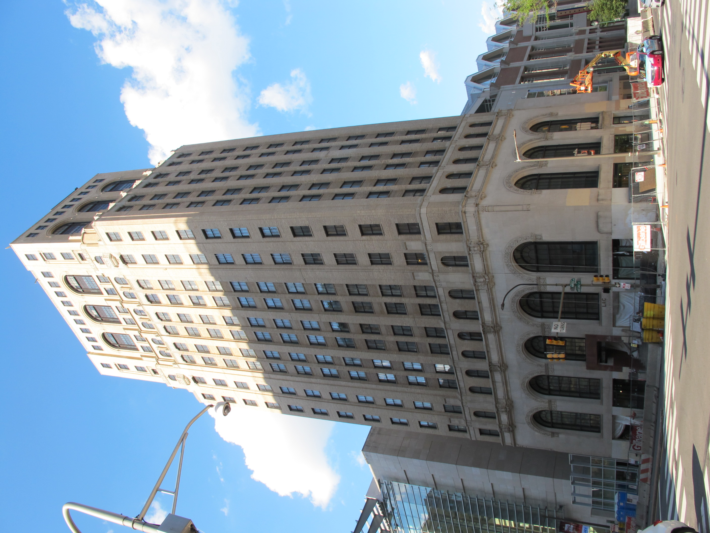Liberty Title and Trust building at Broad and Arch will reopen as an Aloft hotel.