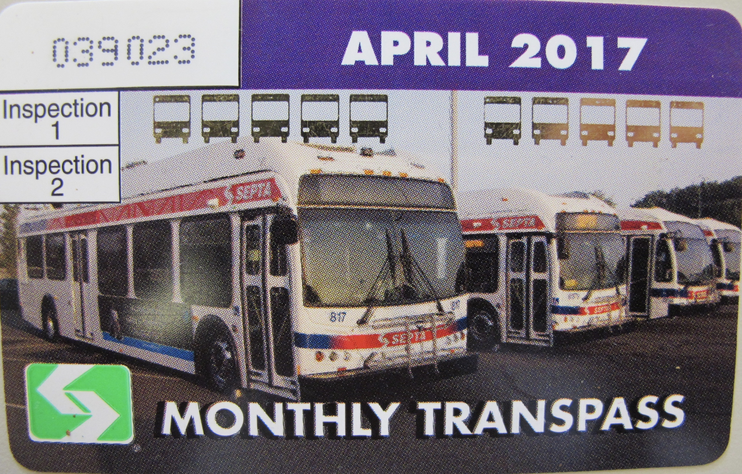 Monthly Transpasses no longer have gendered stickers.