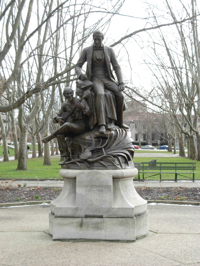 Monument to Stephen Foster | Image via Wikimedia Commons
