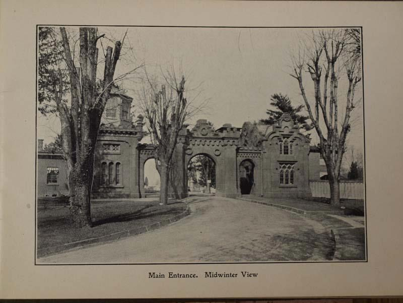 The original Mount Moriah gatehouse
