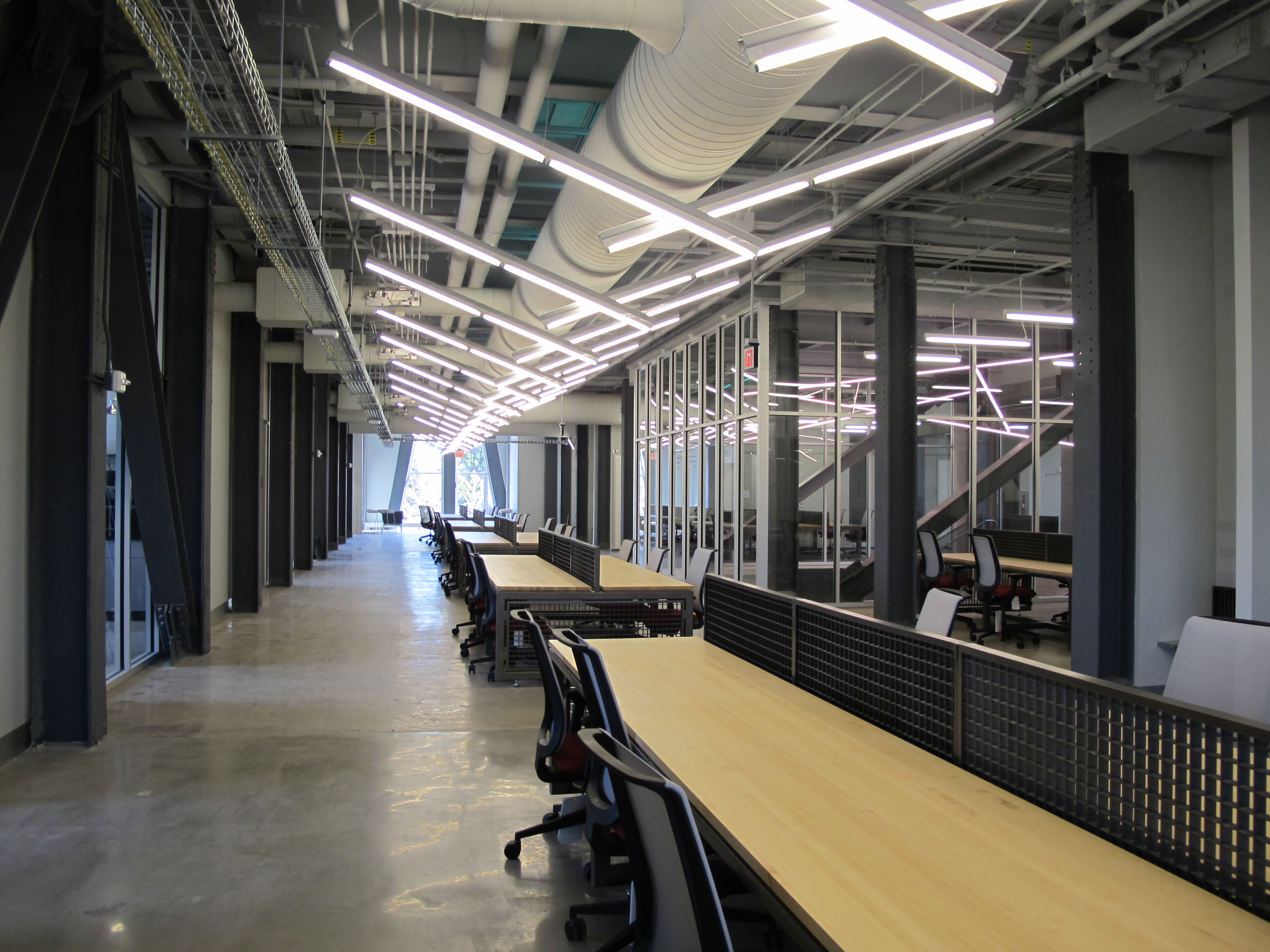 A coworking space in the Pennovation Center, touted by city officials as a hub of Philadelphia's growing tech sector.