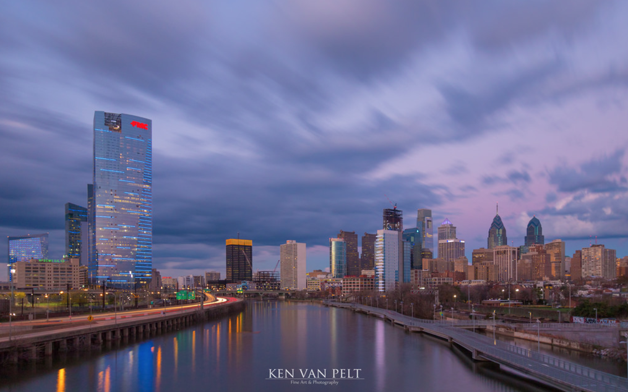 Philadelphia skyline, April 2017 | Ken Van Pelt, EOTS Flickr Group/ DO NOT USE