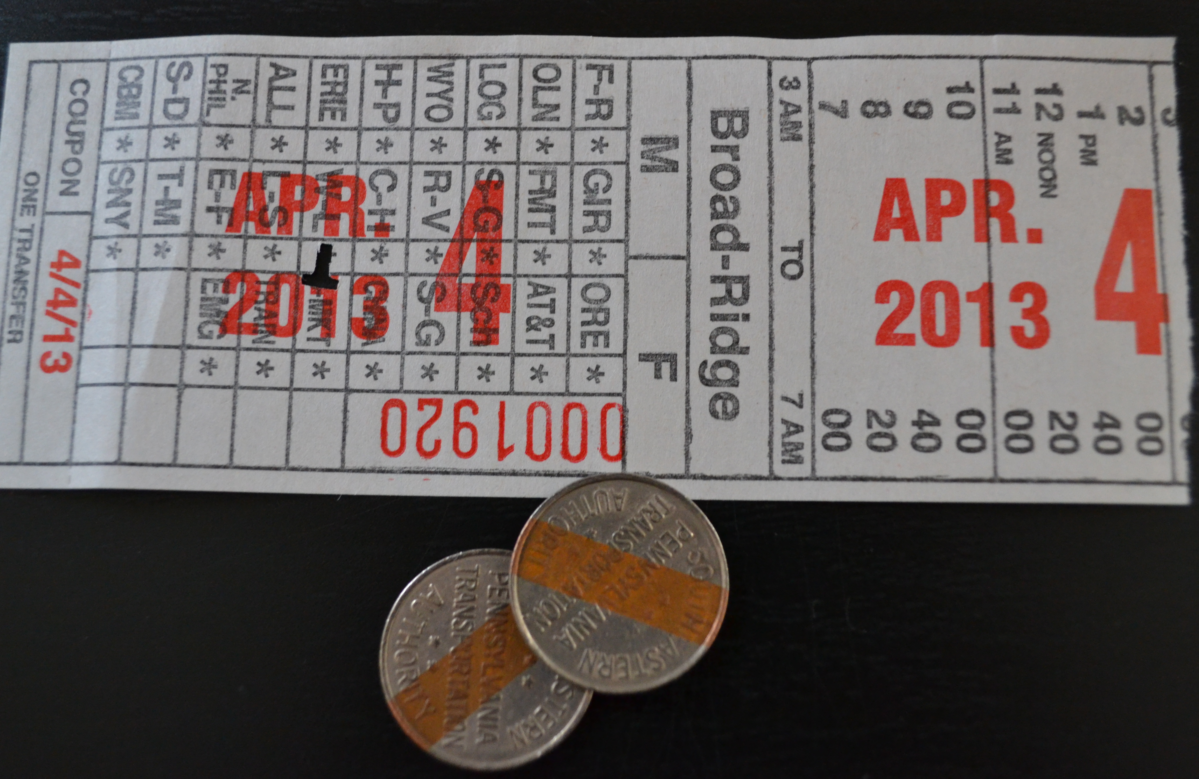 SEPTA is working to phase out tokens and paper transfers by mid 2014