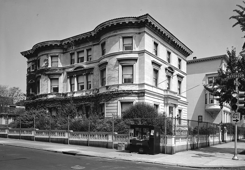 The Burk Mansion at 1500 North Broad was built in 1909. Credit: Temple University