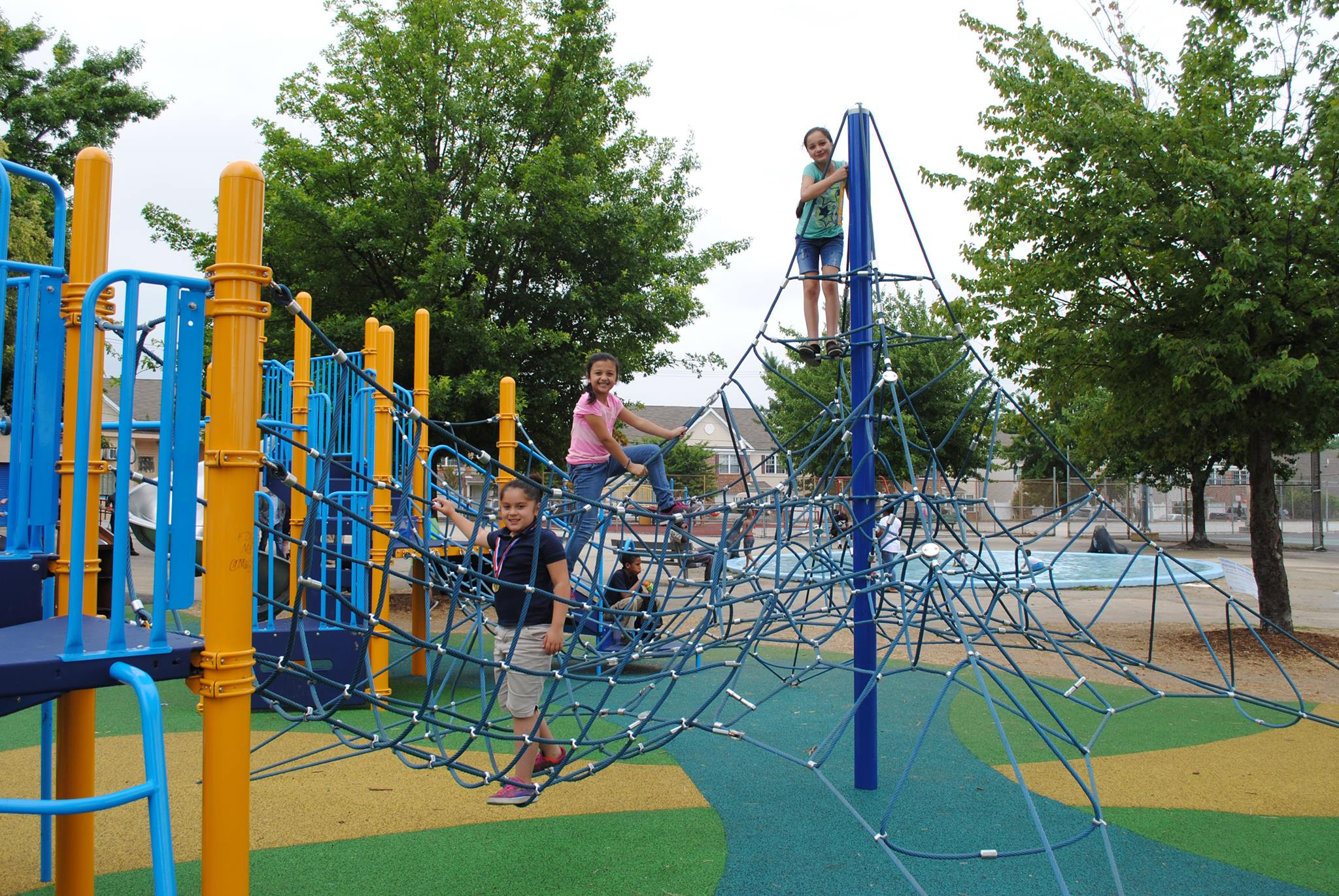 The city recently renovated Piccoli Playground to meet new standards for inclusive play. (Philadelphia Parks and Rec)