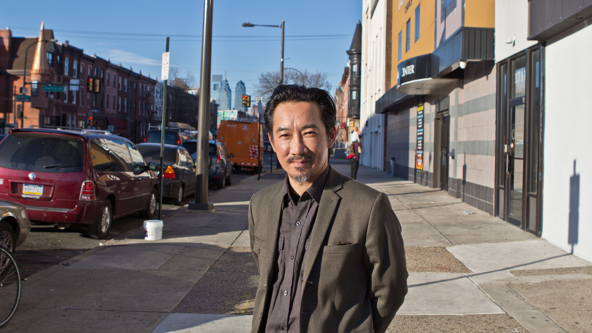 Thoai Nguyen is Chief Executive Officer of Southeast Asian Mutual Assistance Association Coalition. He came with his family to Philadelphia when he was 9 years-old. (Kimberly Paynter/WHYY)