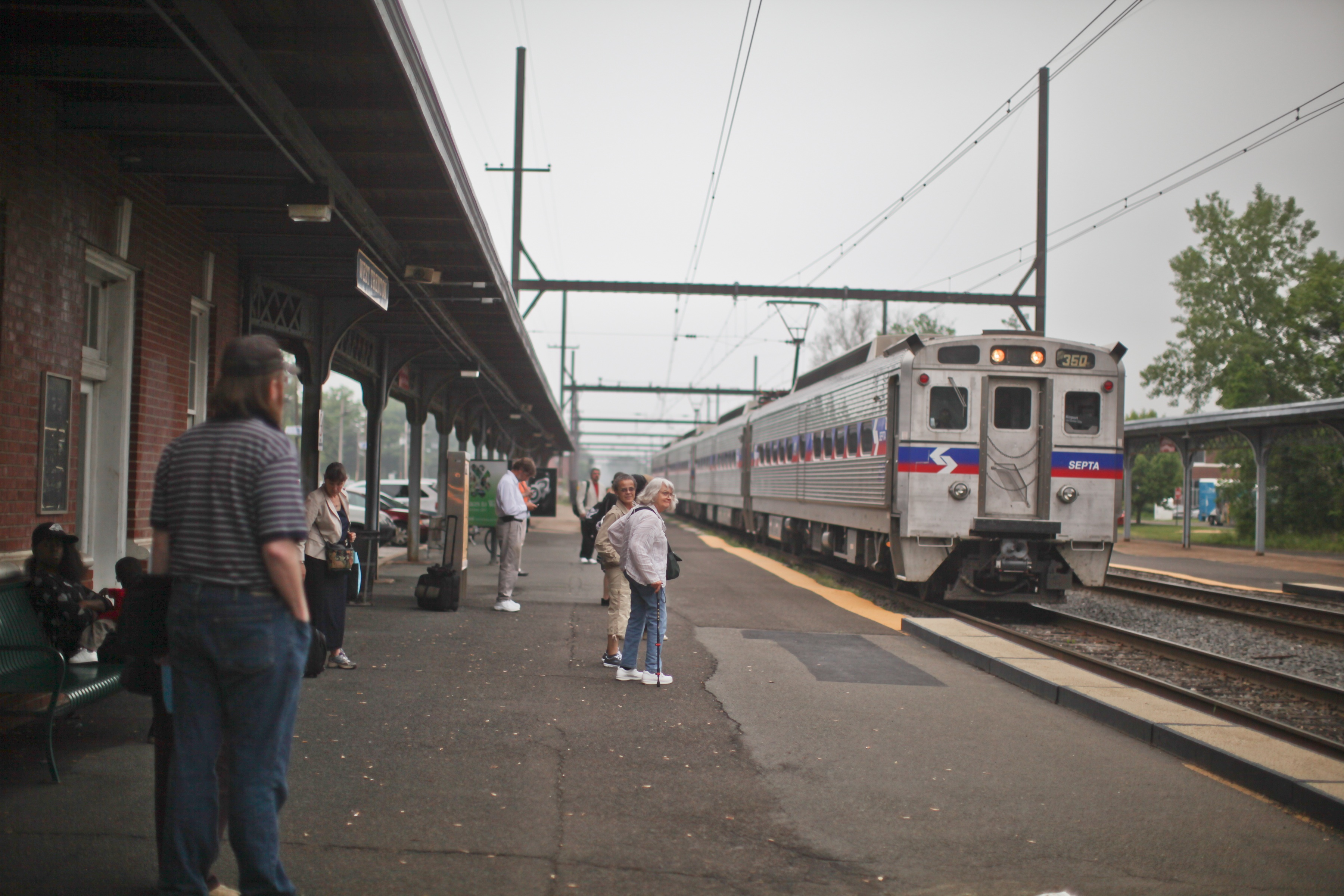 West Trenton Station, Photo by Neal Santos