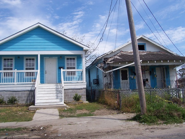9th Ward in New Orleans