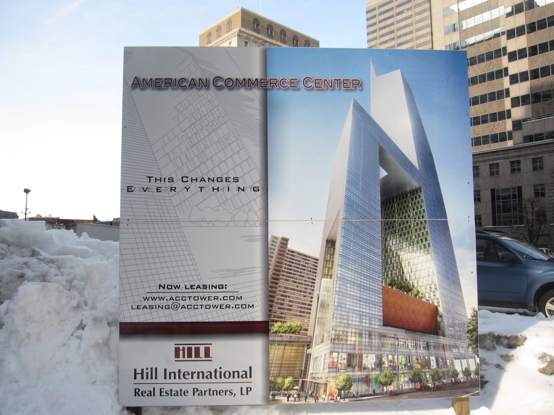 Planning Commission says state law extends zoning relief for the 1,500-foot American Commerce Center