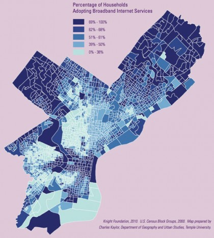 Where will broadband competition take Philadelphia?