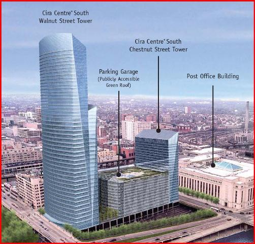 Cira Centre South is being developed by Brandywine Realty Trust