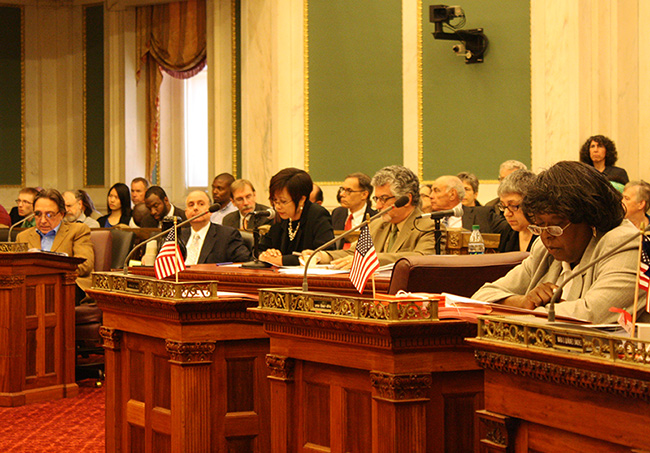 City Council opens hearings on zoning code proposals, adjourns Committee until fall