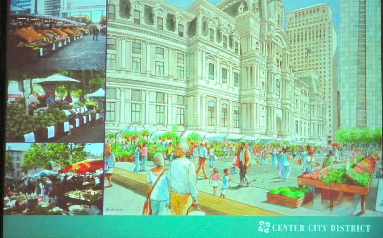 Art Commission gets detailed look at Dilworth Plaza and PhillyLive! plans