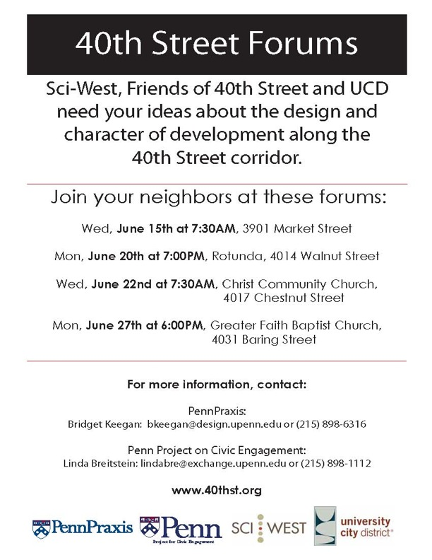 40th Street Forums