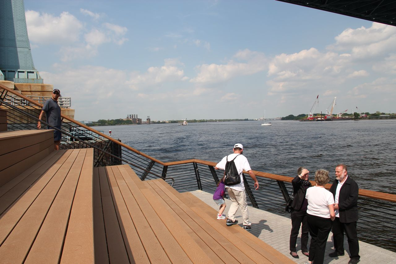 Facts and photos from Race Street Pier opening