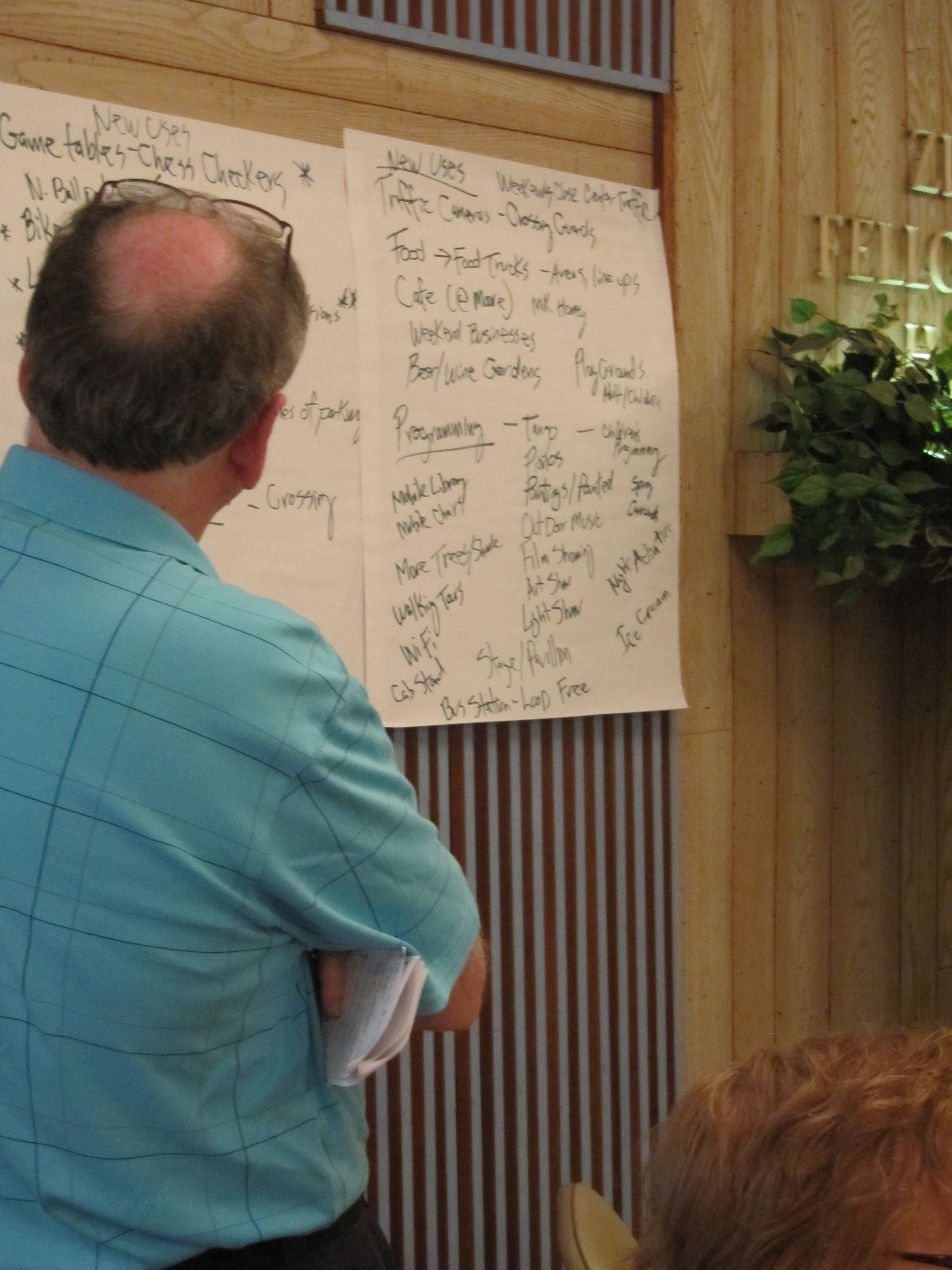 Ideas for the Parkway gathered at Olivet Covenant Presbyterian Church