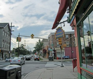 NewsWorks takes a before-and-after look at zoning overlays in East Falls if the zoning code proposal goes through (Megan Pinto)