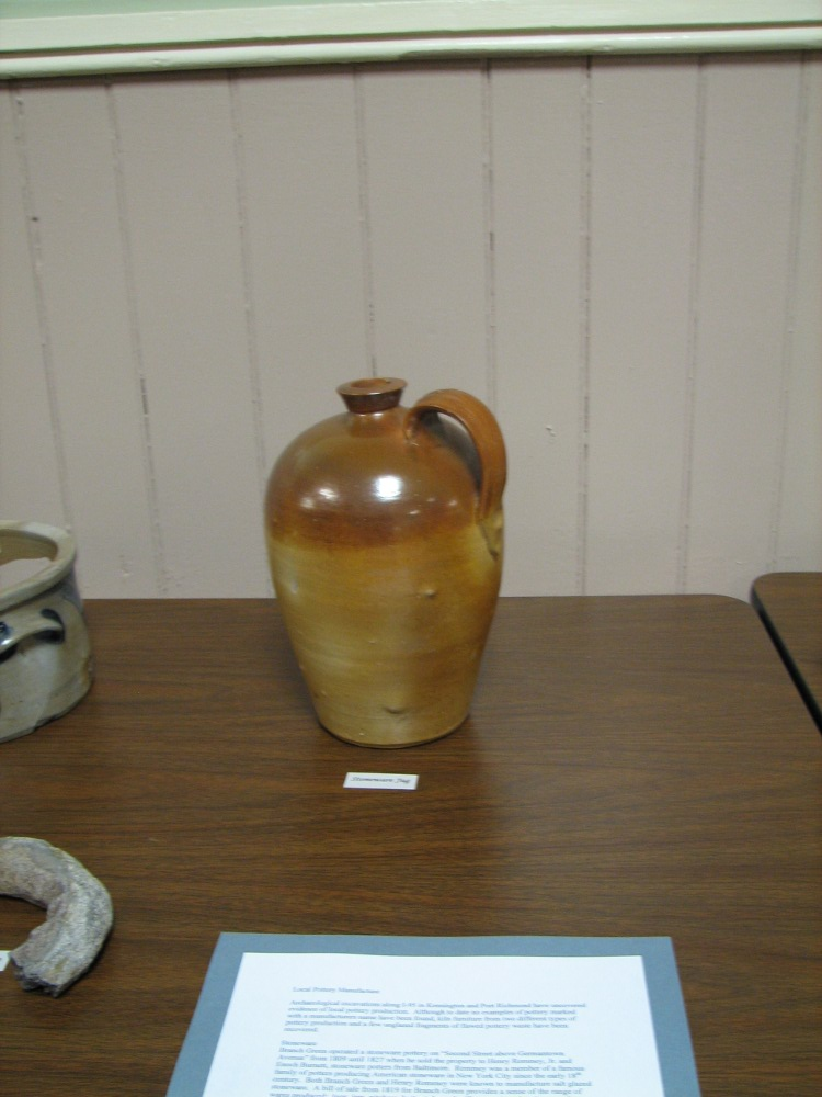 A locally made jug