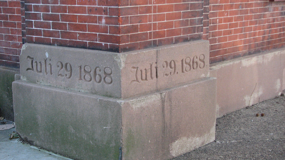 The building has a strong foundation in the 19th century.