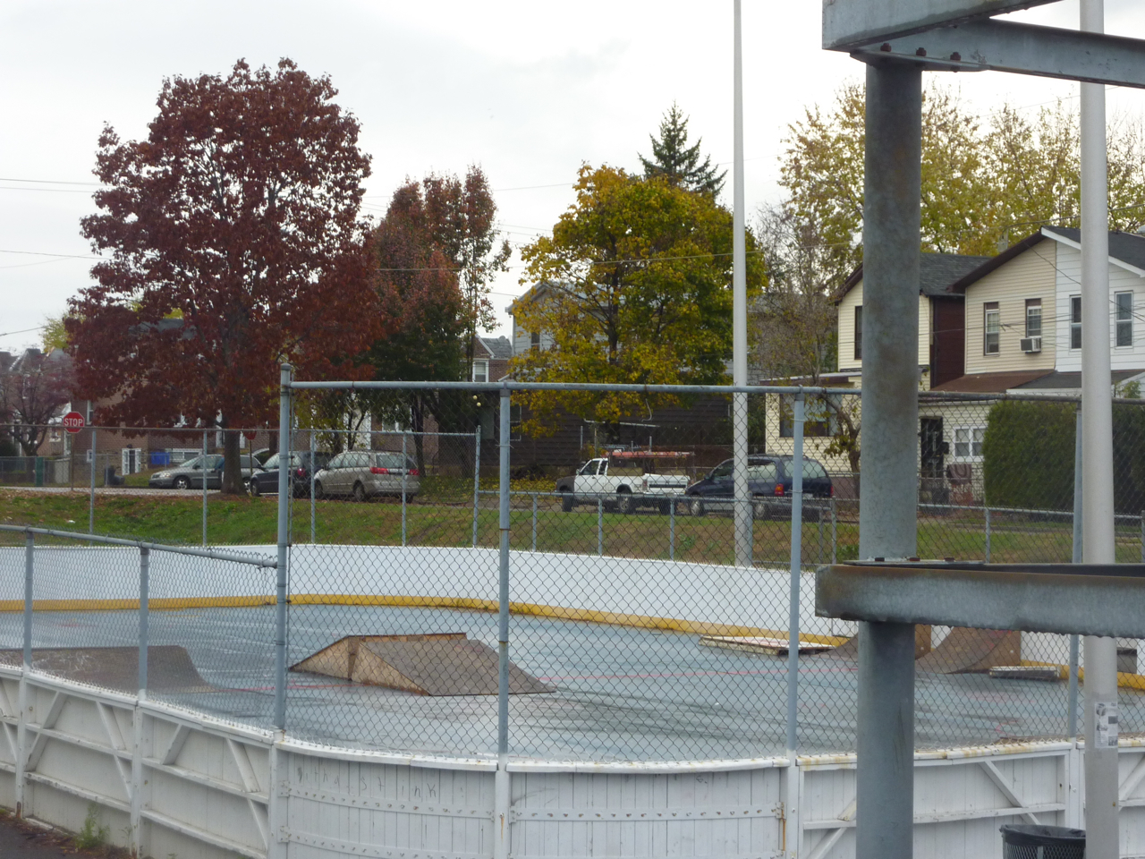 McCreesh Skateboard Rink in the works