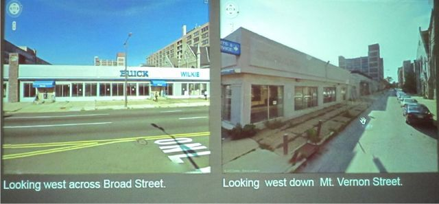 Sidewalk encroachments for two restaurant projects get planning commission nod, but spur philosophical discussion