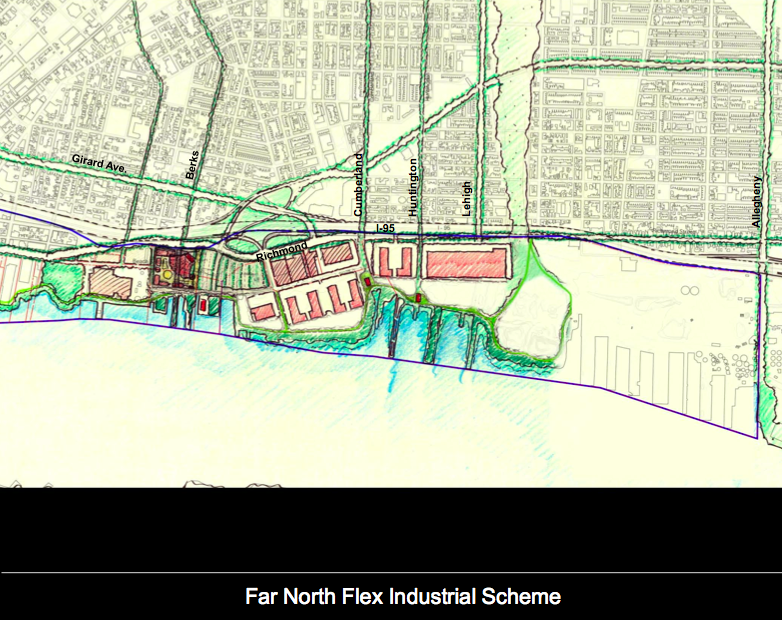 Details on the Central Delaware Master Plan emerge