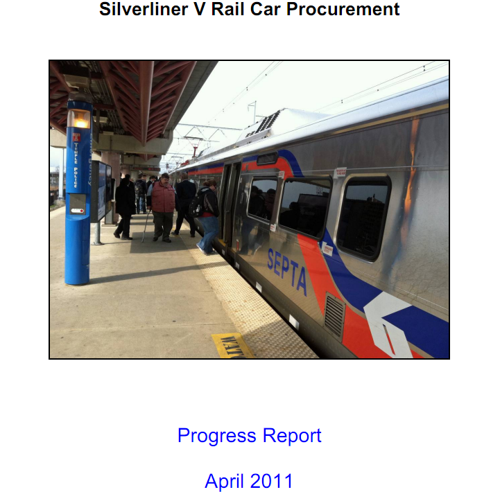 Continued problems at Silverliner V plant despite push for improvements
