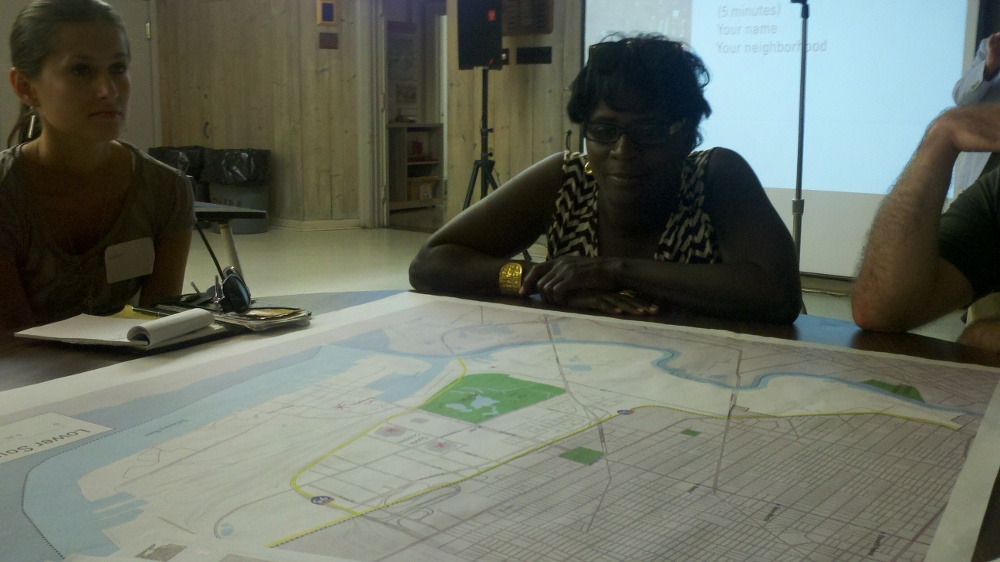 Point Breeze resident Stacy Thomas would like to bike to FDR Park
