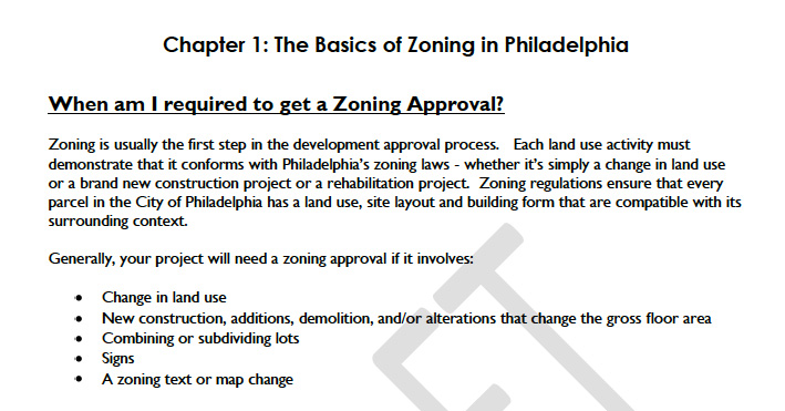 Cutting through the Zoning Code: ZAM! Lessons Learned