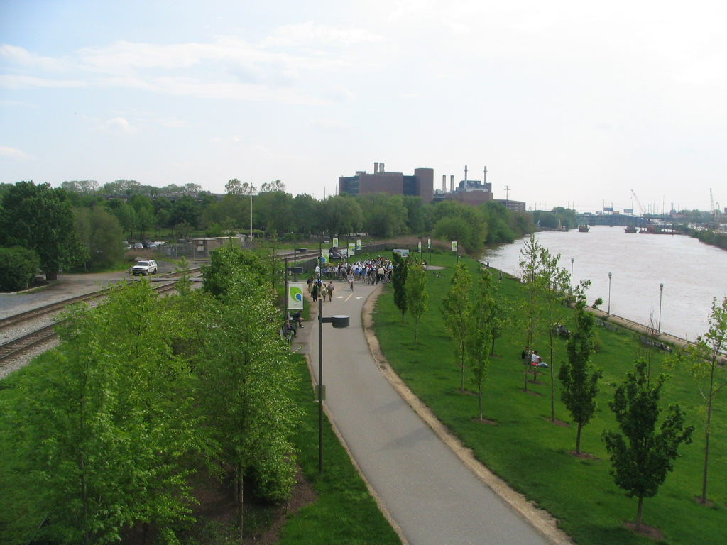 Mayor's Bike Ride PEC hosted last year along Schuylkill Banks