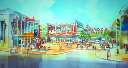 Rendering of PhillyLive proposal