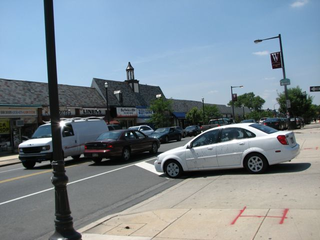 The community of East Mount Airy supports a busy commercial corridor of small businesses along Wadsworth Avenue.