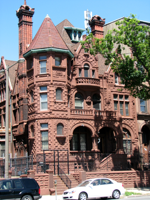 "The amazing structure at 1430 N. Broad was designed in 1891 by William Decker, who was described by writer George Tatum as ""one"