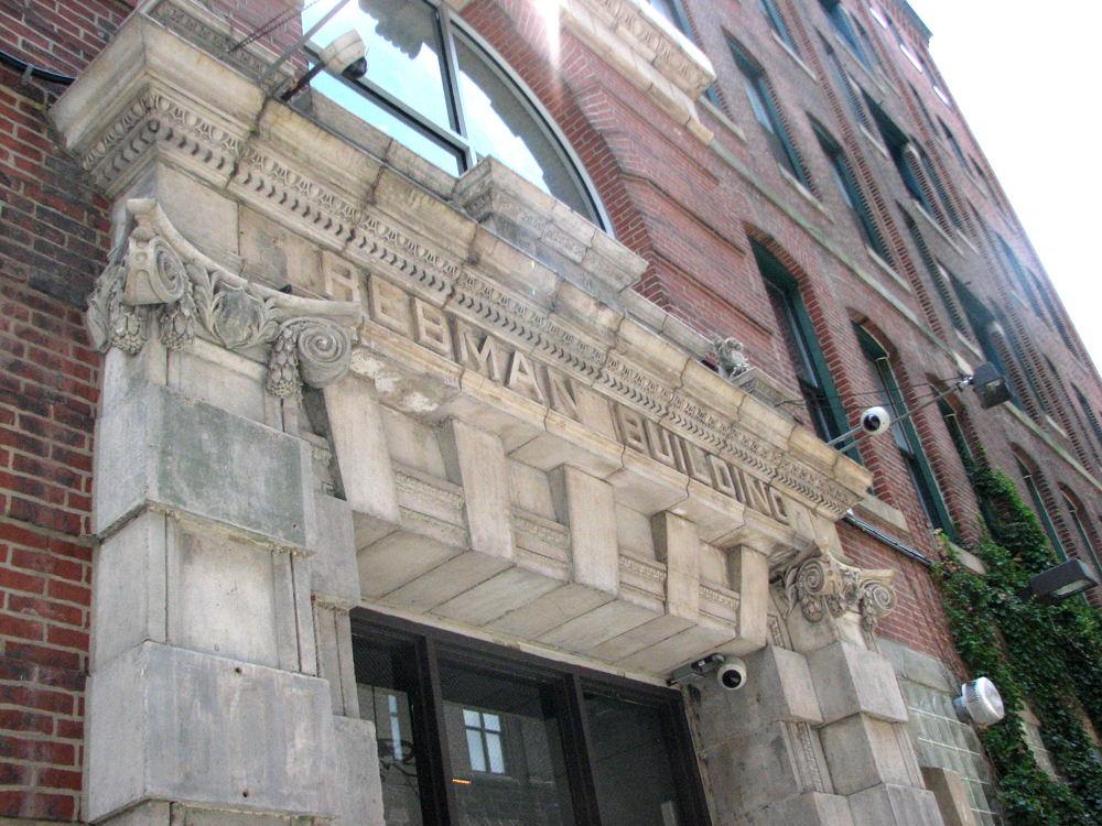 The Rebman Building on North 13th Street is an example of turn-of-the-century industrial design by Ballinger & Perot.