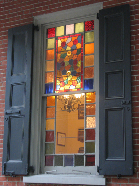 Stained glass mix in Rittenhouse-Fitler Square
