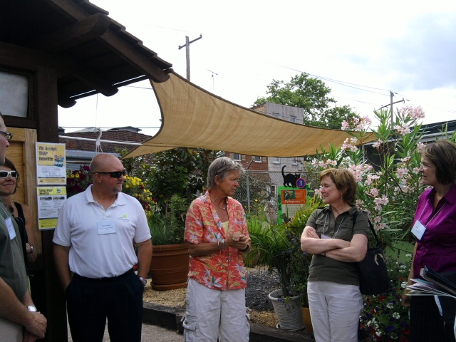 Mary Seton Corboy tells the history of her urban farm