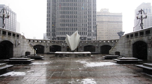 City Hall plaza