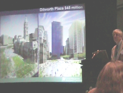 Dilworth Plaza proposed lawn view