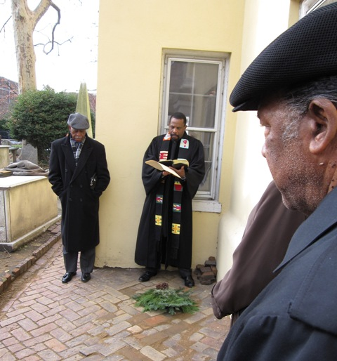 Rev. Gloucester re-interred