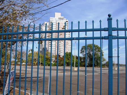 Gated waterfront