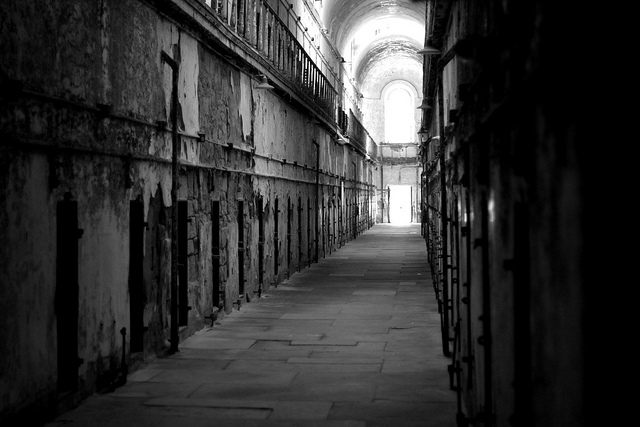 Cell Block at Eastern State Penitentiary | Jeremy Marshall