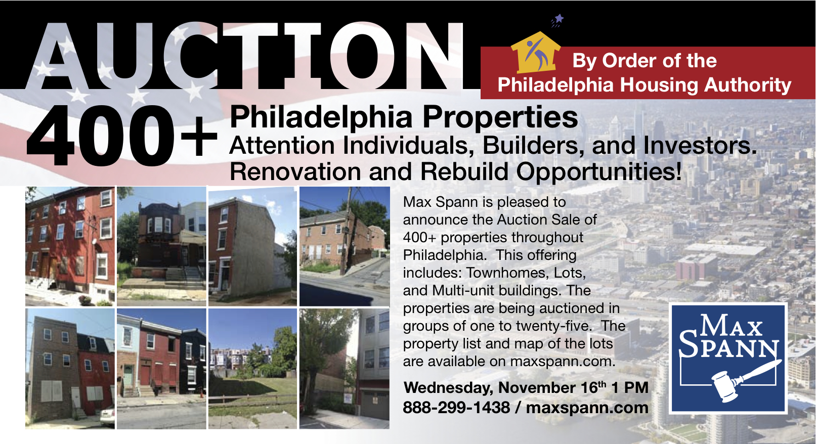 PHA will auction off more than 400 of its surplus properties. | Max Spann