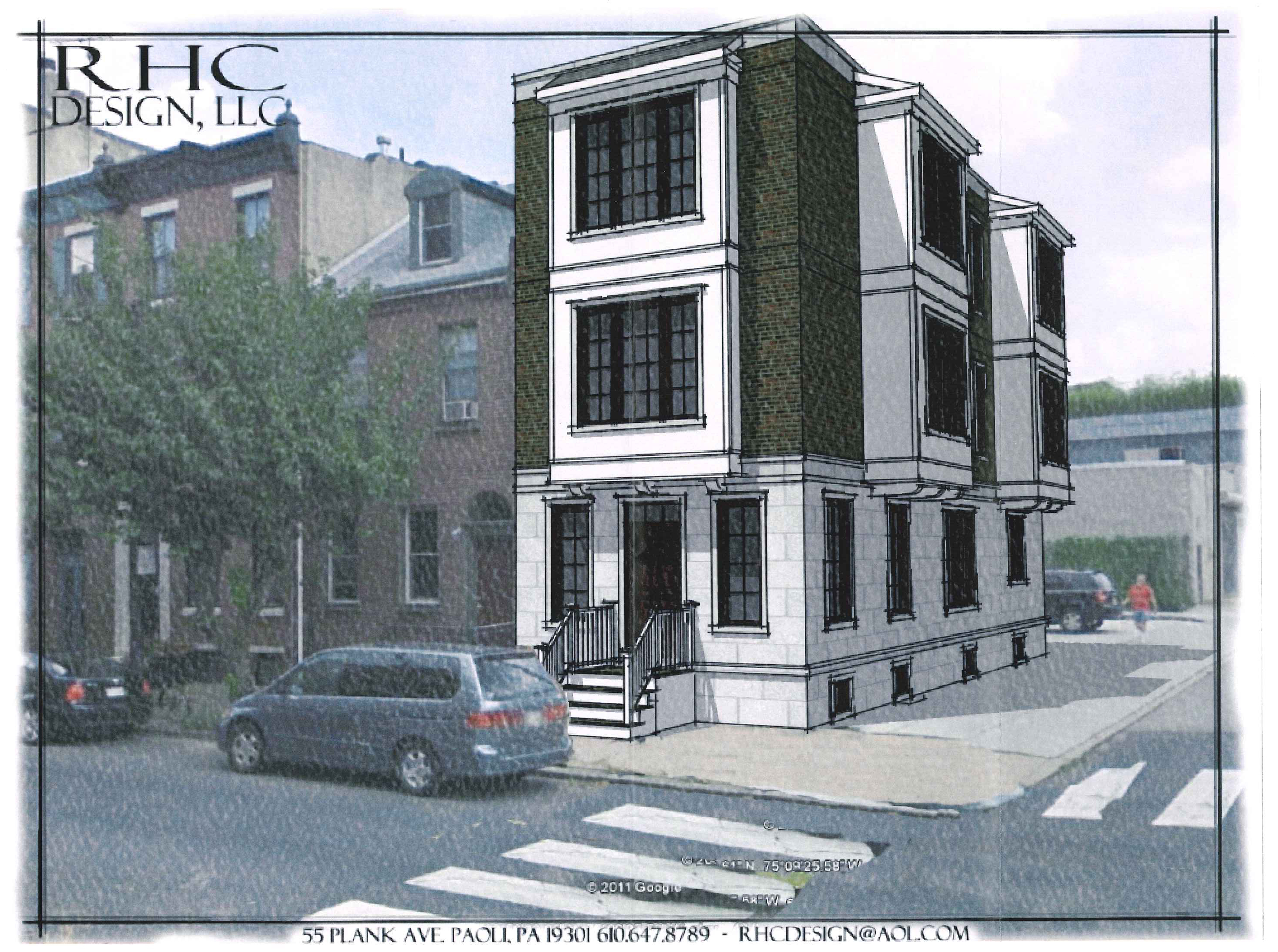 Preliminary design for the new development proposed for 631 S. 9th Street.