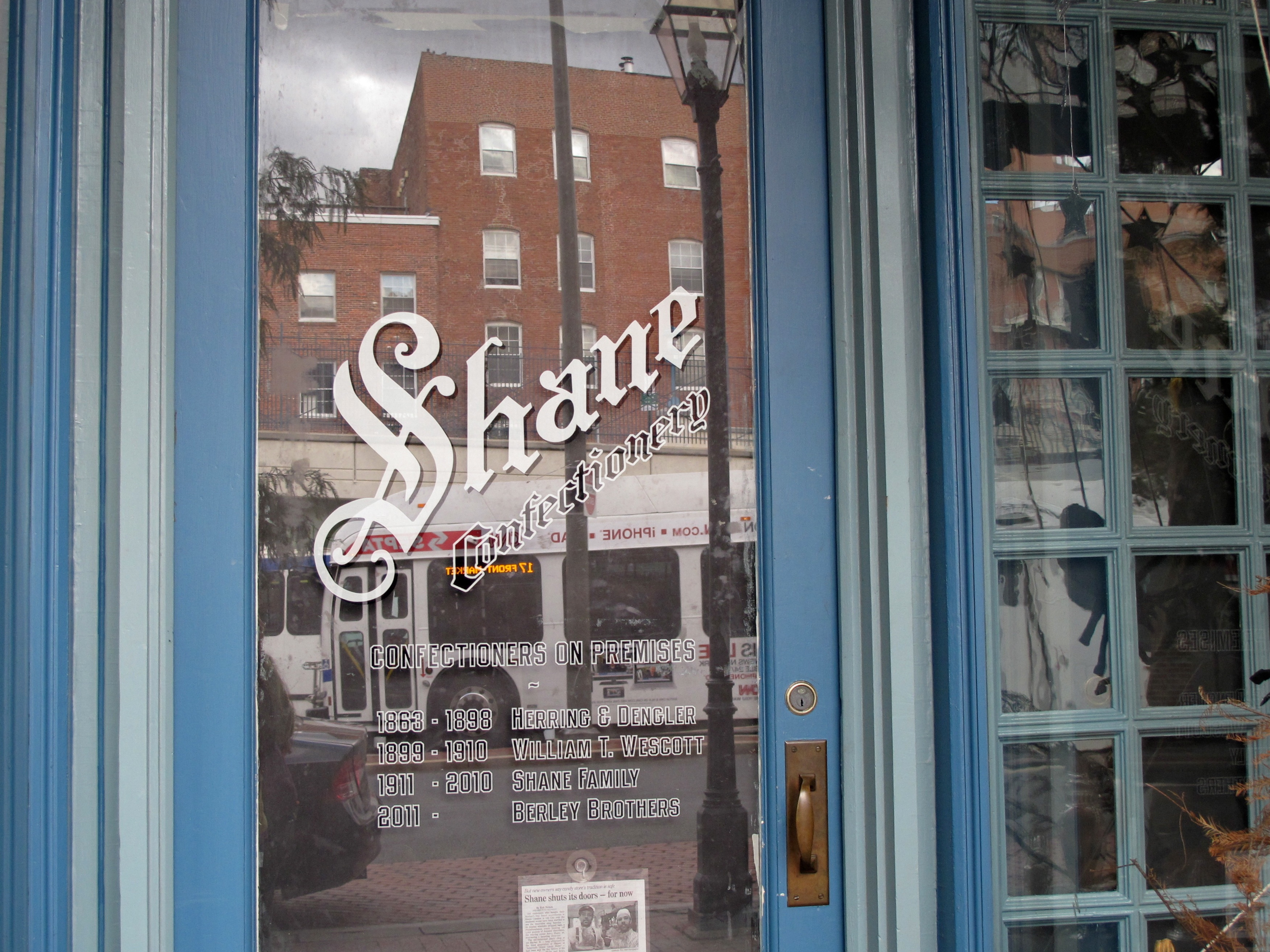 Shane Confectionery in Old City reopens this month. | PlanPhilly