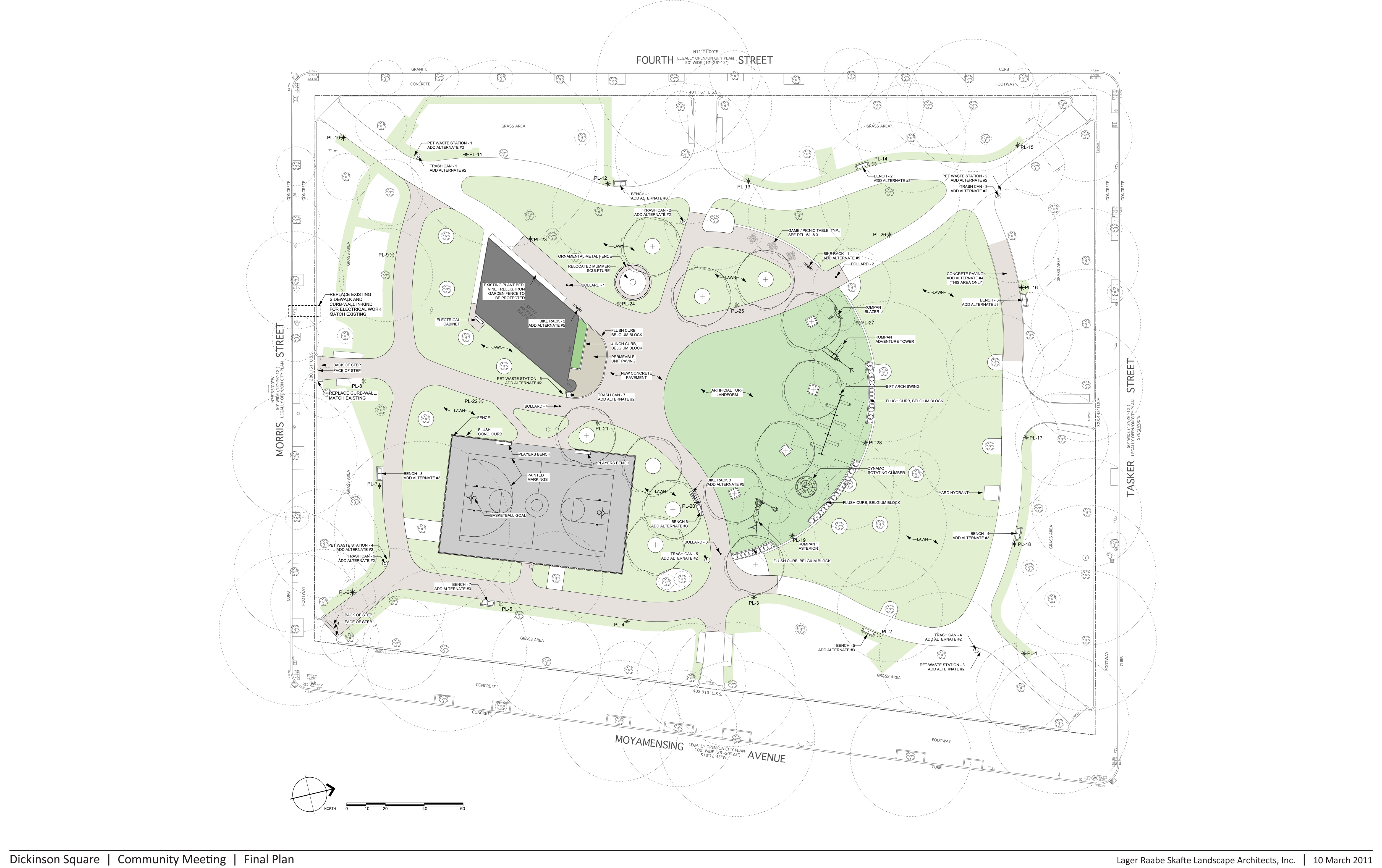 Master Plan for Dickinson Square Park