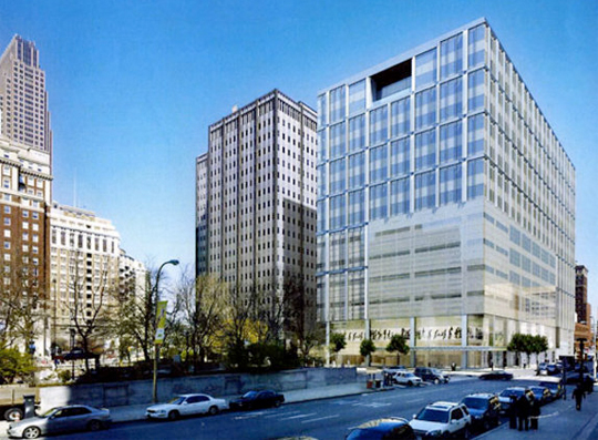 Will the new Family Court Building at 15th and Arch get taller? Almost happened. | EwingCole