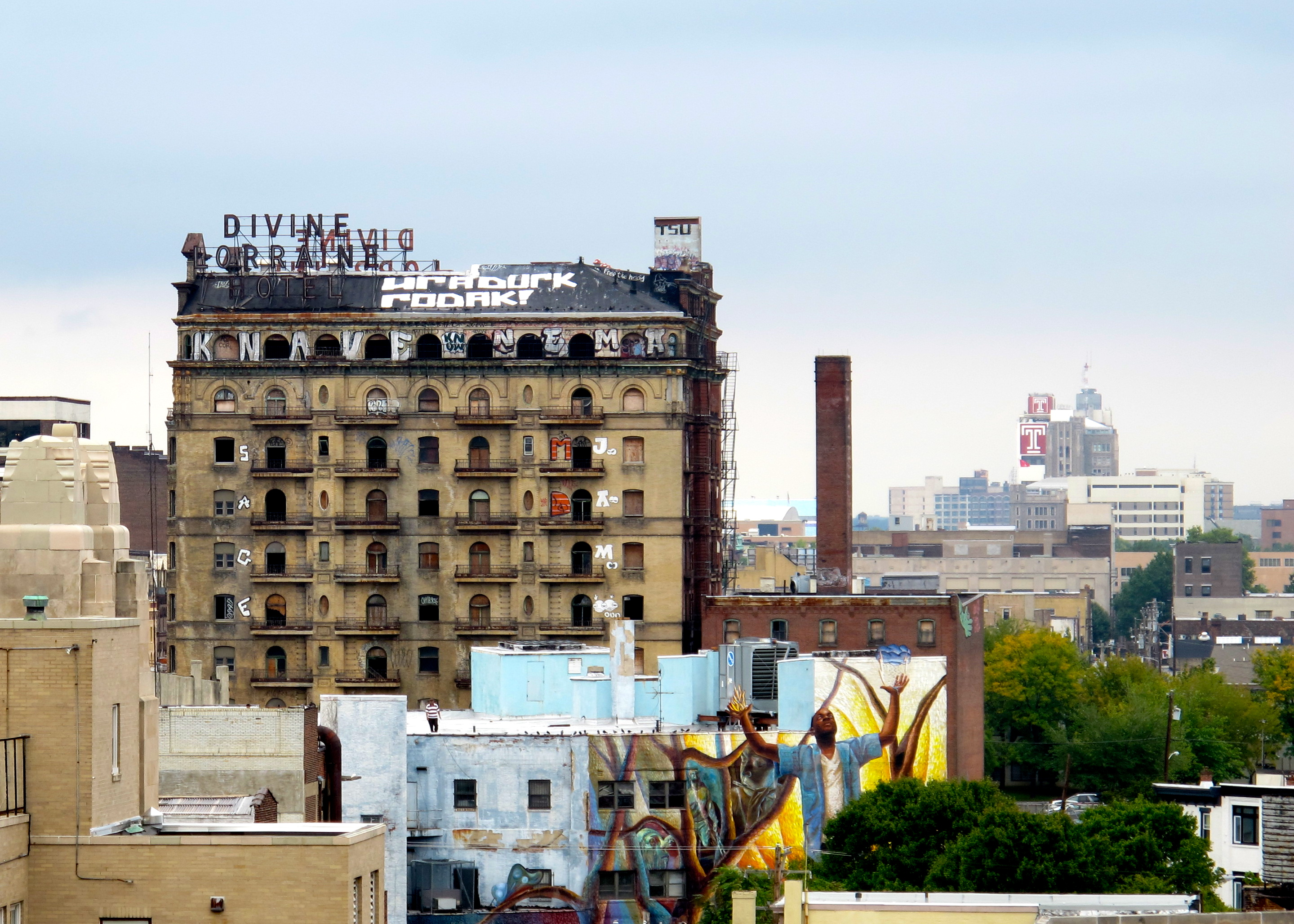 The Divine Lorraine and beyond.